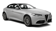 SIXT Car rental Dubai - Mercato Shoping Mall Standard car - Alfa Romeo Giulia