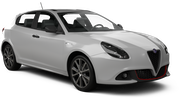 SIXT Car rental Zamalek Downtown Van car - Alfa Romeo Giulia