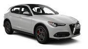 EUROPCAR Car rental Massy - Tgv Station Suv car - Alfa Romeo Stelvio
