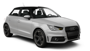EUROPCAR Car rental Luxembourg Railway Station Economy car - Audi A1