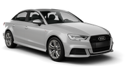 EUROPCAR Car rental Luxembourg Railway Station Compact car - Audi A3