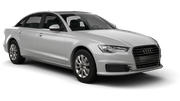 AVIS Car rental Tivat Airport Luxury car - Audi A6
