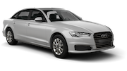 EUROPCAR Car rental Nis Airport Luxury car - Audi A6