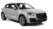 BUDGET Car rental Luxembourg Railway Station Standard car - Audi Q2