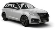 ENTERPRISE Car rental Pittsburgh International Airport Suv car - Audi  Q7