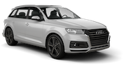 ENTERPRISE Car rental Sacramento Int'l Airport Suv car - Audi  Q7