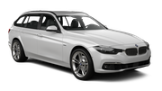 DOLLAR Car rental Huddersfield Standard car - BMW 3 Series Estate