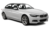 SIXT Car rental Luxembourg Railway Station Fullsize car - BMW 3 Series