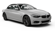 DOLLAR Car rental Lincoln Convertible car - BMW 4 Series Convertible