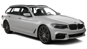 SIXT Car rental Luxembourg Railway Station Luxury car - BMW 5 Series Estate