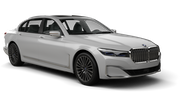 DOLLAR Car rental Dubai - Intl Airport Fullsize car - BMW 7 Series