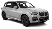 SIXT Car rental Esch Alzette Downtown Suv car - BMW X3