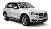 DOLLAR Car rental Lincoln Suv car - BMW X5