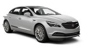 THRIFTY Car rental Sacramento Int'l Airport Luxury car - Buick Lacrosse