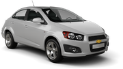 NATIONAL Car rental Medellin - Downtown Economy car - Chevrolet Aveo