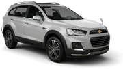 AVIS Car rental Singapore Changi - Airport Suv car - Chevrolet Captiva