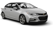 BUDGET Car rental Dubai - Downtown Standard car - Chevrolet Cruze