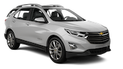 HERTZ Car rental Anaheim Suv car - Chevrolet Equinox