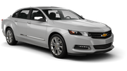 HERTZ Car rental Newark International Airport New Jersey Fullsize car - Chevrolet Impala