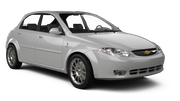 EUROPCAR Car rental Paphos City Standard car - Chevrolet Lacetti