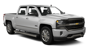 ENTERPRISE Car rental Sacramento Int'l Airport Luxury car - Chevrolet Silverado