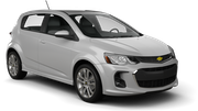 BUDGET Car rental Montreal - Cote-des-neiges Compact car - Chevrolet Sonic