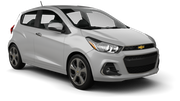 HERTZ Car rental Providence Airport Economy car - Chevrolet Spark