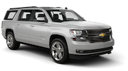AVIS Car rental Los Angeles - Wilshire Boulevard Suv car - Chevrolet Suburban