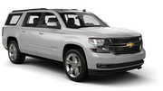 AVIS Car rental St Louis - Westin Hotel Downtown Suv car - Chevrolet Suburban