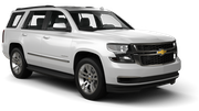 AVIS Car rental Los Angeles - Nara Financial Center Suv car - Chevrolet Tahoe