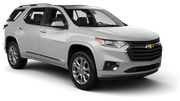 HERTZ Car rental Changi Airport - T3 Suv car - Chevrolet Traverse