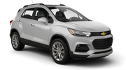 INTERRENT Car rental Al Maktoum - Intl Airport Suv car - Chevrolet Trax