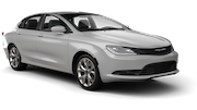 HERTZ Car rental Newark International Airport New Jersey Standard car - Chrysler 200