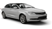 HERTZ Car rental Hamilton Square Standard car - Chrysler 200