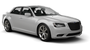 HERTZ Car rental Milwaukee Airport Luxury car - Chrysler 300