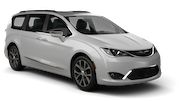 SIXT Car rental Carlsbad Van car - Chrysler Pacifica