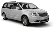 AVIS Car rental South Miami Beach Van car - Chrysler Town and Country