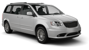 AVIS Car rental Anaheim Van car - Chrysler Town and Country