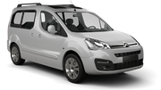 SIXT Car rental Brussels - Train Station Van car - Citroen Berlingo