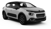 BUDGET Car rental Luxembourg Railway Station Suv car - Citroen C3 Aircross