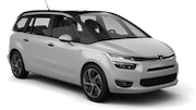 DOLLAR Car rental Sheffield Van car - Citroen C4 Grand Picasso