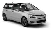 EUROPCAR Car rental Paphos City Van car - Citroen C4 Grand Picasso