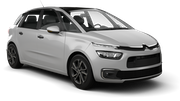 SIXT Car rental Luton Van car - Citroen C4 Picasso