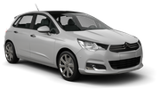 BUDGET Car rental Barcelona - Airport Compact car - Citroen C4