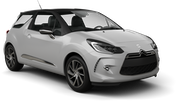 SIXT Car rental Luxembourg Railway Station Economy car - Citroen DS3