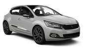 BUDGET Car rental Zamalek Downtown Compact car - Citroen DS4