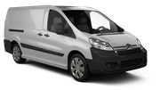 SIXT Car rental Paris - Porte Maillot Van car - Citroen Jumpy