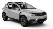 DOLLAR Car rental Dubai - Mall Of The Emirates Suv car - Dacia Duster