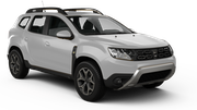 DOLLAR Car rental Abu Dhabi - Intl Airport Suv car - Dacia Duster