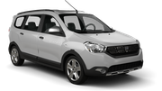 GOLDCAR Car rental Barcelona - Airport Van car - Dacia Lodgy
